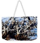 Driftwood Lace Weekender Tote Bag