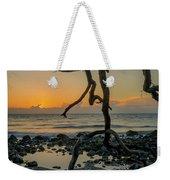 Driftwood Sunrise Weekender Tote Bag