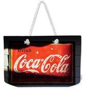 Drink Coke Weekender Tote Bag