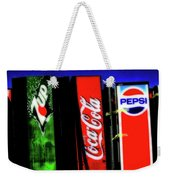 Drink Vending Machines Weekender Tote Bag