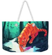 Drinking At The Stream Weekender Tote Bag