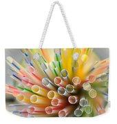 Drinking Straws  Weekender Tote Bag
