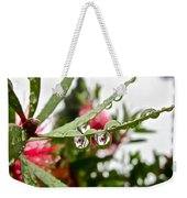 Drip And Drop Weekender Tote Bag