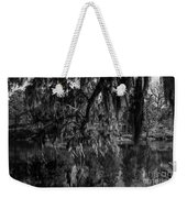 Drippin With Spanish Moss At Middleton Place Weekender Tote Bag