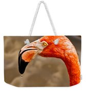 Dripping Flamingo Weekender Tote Bag