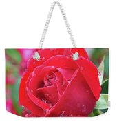 Dripping In Beauty - Double Knock Out Rose Weekender Tote Bag