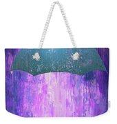 Dripping Poster Purple Rain Weekender Tote Bag