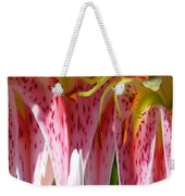 Dripping Stargazer Weekender Tote Bag