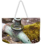Dripping Tap On A Stone Trough Weekender Tote Bag