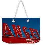 Drive In- California  Weekender Tote Bag