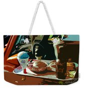 Drive In Weekender Tote Bag
