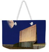Drive-in Moon Weekender Tote Bag
