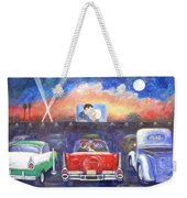 Drive-in Movie Theater Weekender Tote Bag