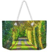 Drive Into Autumn Weekender Tote Bag