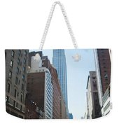Drive Though The City  Weekender Tote Bag