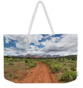Drive To Loy Canyon, Sedona, Arizona Weekender Tote Bag