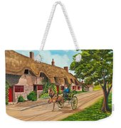Driving A Jaunting Cart Weekender Tote Bag