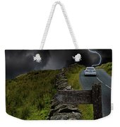 Driving Into The Storm Weekender Tote Bag