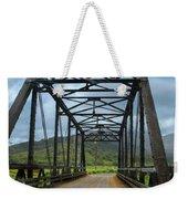 Driving Over Hanalei Bridge Weekender Tote Bag