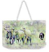 Driving Sheep Weekender Tote Bag