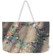 Drizzle Art On A Sidewalk Weekender Tote Bag