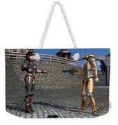 Droid Captures A Local Rebel Weekender Tote Bag