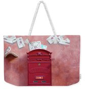 Drop Me A Letter Mr. Postman Weekender Tote Bag