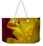 Drop On Flower Stalk Weekender Tote Bag