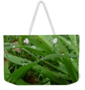 Droplets 01 Weekender Tote Bag