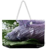 Droplets Of Nature Weekender Tote Bag