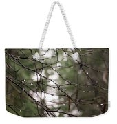 Droplets On Branches Weekender Tote Bag