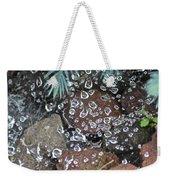 Droplets Over Web Weekender Tote Bag