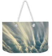 Dropping Clouds Weekender Tote Bag