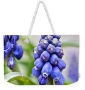 Drops Met Hyacinth Weekender Tote Bag