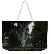 Drops Of Fountain Weekender Tote Bag