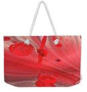 Drops Of Red Weekender Tote Bag
