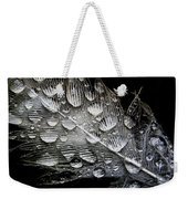 Drops On A Feather Weekender Tote Bag