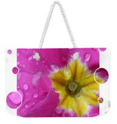 Drops Upon Raindrops 5 Weekender Tote Bag