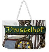 Drosselhof Neon Sign Weekender Tote Bag