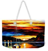 Drowned Sunset Weekender Tote Bag