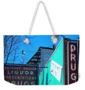 Drugs Weekender Tote Bag