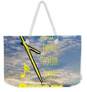 Drum Percussion Fine Art Photographs Art Prints 5021.02 Weekender Tote Bag