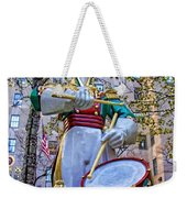 Drummer Boy  In Rockefeller Center Weekender Tote Bag