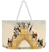Drunkards Progress, 1846 Weekender Tote Bag