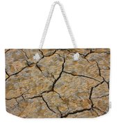 Dry Cracked Lake Bed Weekender Tote Bag