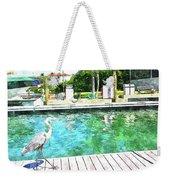 Dry Dock Bird Walk Weekender Tote Bag
