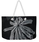Dry Leaf Collection Bnw 2 Weekender Tote Bag