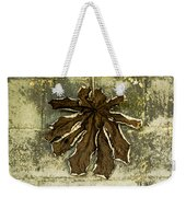 Dry Leaf Collection Natural Weekender Tote Bag