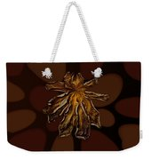 Dry Leaf Collection Psychedelic Weekender Tote Bag