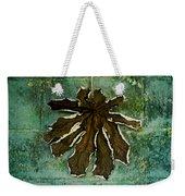 Dry Leaf Collection Wall Weekender Tote Bag